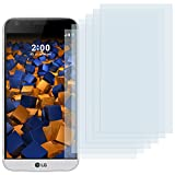 mumbi Schutzfolie kompatibel mit LG G5 Folie klar, Bildschirmschutzfolie (6X)