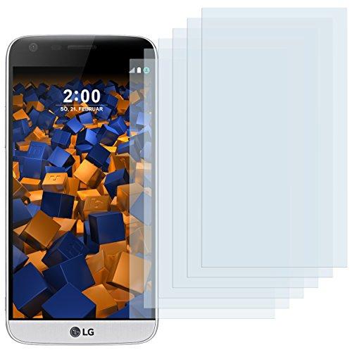 mumbi Schutzfolie kompatibel mit LG G5 Folie klar, Displayschutzfolie (6X)