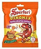 Sperlari - Kids Dinomix, Caramelle alla Frutta Morbide e Frizzanti a Forma di Dinosauro, L...