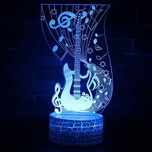 Te amo cariño Bombilla LED 3D Decoración romántica 7 colores Luz de noche brillante Novia Regalo del día de la madre 2 sin controlador