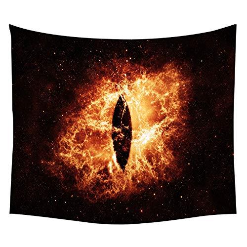 WERT Vasto Universo Cielo Estrellado Aurora Luna Tapiz Creativo Fondo de Vida Tapiz Decorativo Tapiz A6 150x200cm