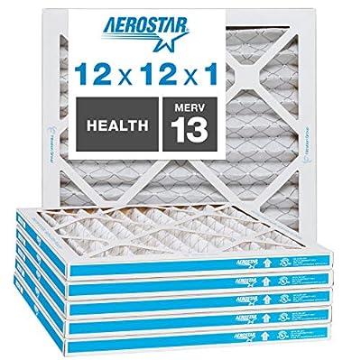 Aerostar Home Max 16x20x4 MERV 13 Pleated Air Filter