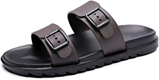 Shoes サンダル 男性 カジュアル 通気性 滑り止め 柔らかい ビーチ アウトドア ウォーター シューズ Comfortable (Color : 褐色, サイズ : 25.5 CM)