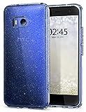 Spigen Coque HTC U11 [Liquid Crystal Glitter] Ultra Mince Premium TPU Silicone Etui...