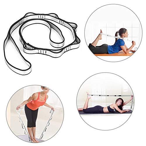 Générique Fitness Yoga Polyester Tension Stretch Strap Body Building Stretching Ceintures pour Anti Gravity Aerial Yoga Hamac