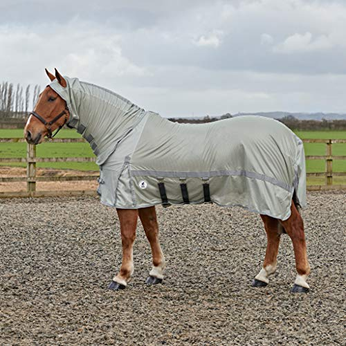 Derby House PRO Fly rug, Argento, 6ft
