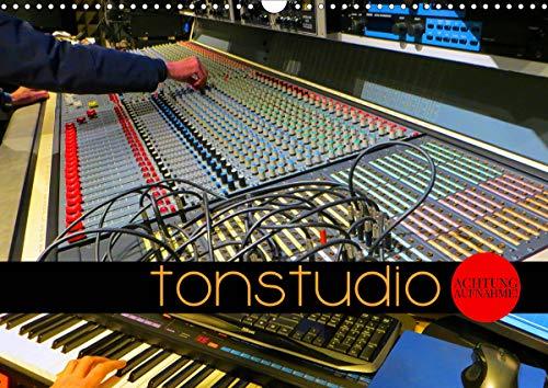 TONSTUDIO - Achtung Aufnahme! (Wandkalender 2021 DIN A3 quer)