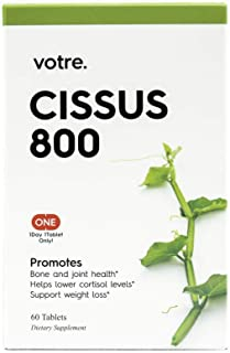 Sponsored Ad - Votre. Cissus 800mg Extracts, 60 Tablets, Bone Health, Metabolism Support