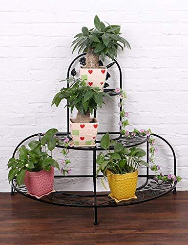 MGER Bloem Stand, Plant Stand Binnen Bloem Stand Europese Stijl Strijkijzer Bloem Stand Muur Ophangende Bloem Pot Frame