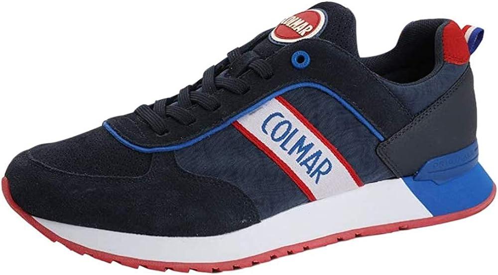 Colmar originals ,sneakers per uomo,in pelle scamosciata colmar-a-travis-r032-marine_0