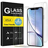 UTLK Screen Protector for iPhone XR, [2 Front+2 Back ]...