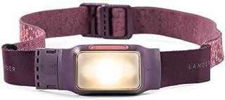 Lander Kiva Rechargeable Waterproof Headlamp with 40 Hours of Battery Life - Purple