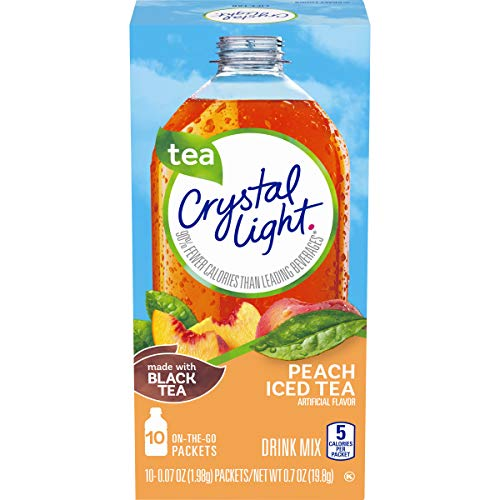 Crystal Light Peach Drink Mix (120 Packets, 12 Canisters of 10)