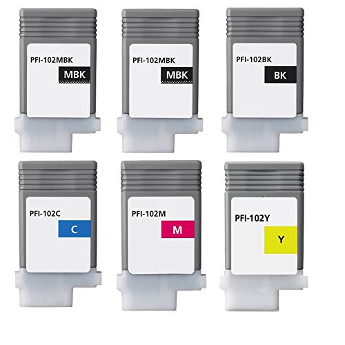 XL-Ink Compatible Cartdirges for Canon PFI-102