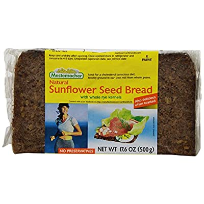mestemacher bread sunflower seed