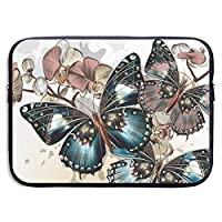 Colorful Butterflies Art PCケース ノートパソコンバッグ ラップトップ用 保護ケース 耐衝撃 撥水加工 軽量 ビジネスバッグ ハンドルバッグ ブリーフケース タブレット ケース スリーブ 13-15インチ