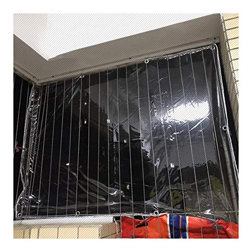 GZHENH Lonas Impermeables Exterior,0,3 Mm De Espesor Película Plástica De PVC Anti-envejecimiento Impermeable Anti-Nieve Agujero De Metal Fácil De Instalar Lona De La Tienda