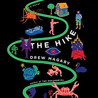 The Hike                   Auteur(s):                                                                                                                                 Drew Magary                               Narrateur(s):                                                                                                                                 Christopher Lane                      Durée: 8 h et 4 min     41 évaluations     Au global 4,5