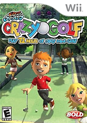 Crazy Golf Nintendo Wii