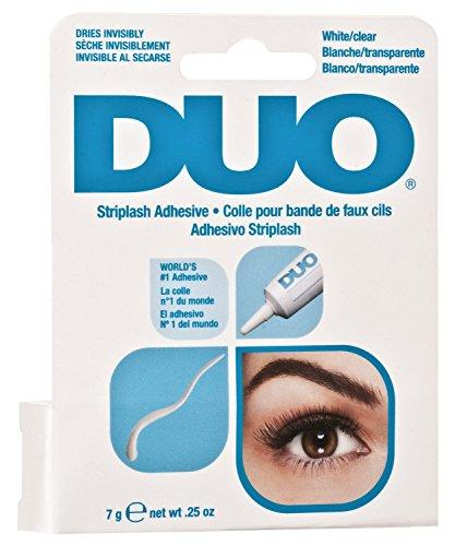 Duo Cils Adhésif Blanc/Transparent