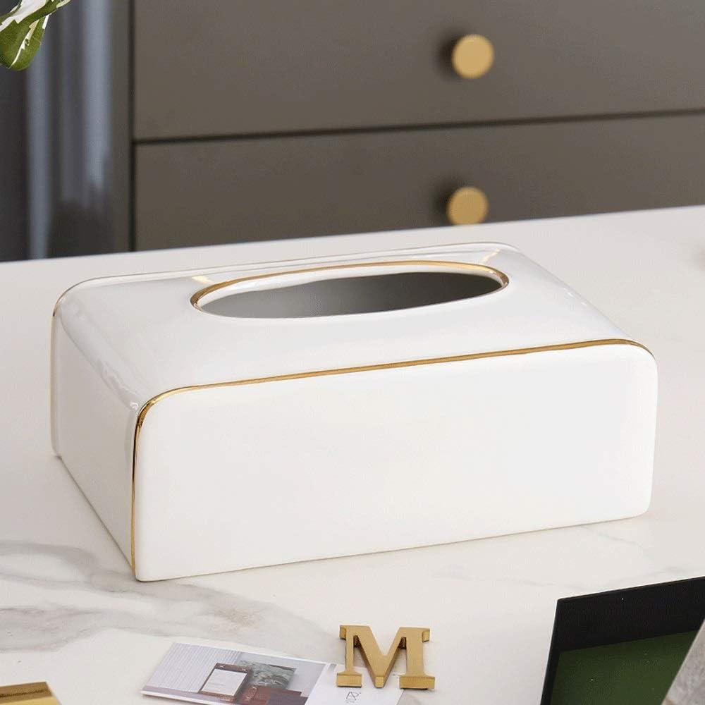 AERVEAL Paper Holder Ranking TOP9 Handmade Tissue Recta Napkin Organizer Max 45% OFF Box