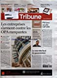 TRIBUNE (LA) [No 3669] du 24/05/2007 - BUSINESS MANAGERS - CONTROLES URSSAF - L'ECHANTILLONNAGE LEGALISE - TRIBUNES - RECOMPOSITION ACCELEREE DU PAYSAGE BANCAIRE MONDIAL - ENQUETE - RUEE SUR L'URANIUM EN AUSTRALIE - RENDEZ-VOUS PERSO - LA TELECOMMANDE FAIT SA REVOLUTION - LES ENTREPRISES S+¡ARMENT CONTRE LES OPA RAMPANTES - ENTREPRISES - PROMOTION IMMOBILIERE - L'ANNEE DE TOUS LES BOULEVERSEMENTS - TELEPHONE MOBILE - FEU VERT A LA BAISSE DES PRIX DES COMMUNICATIONS A L'ETRANGER - PSA LANCE SON