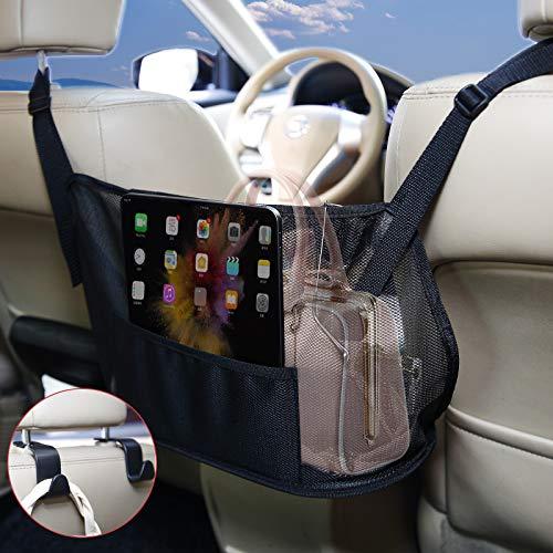Borsa portaoggetti per auto, organizer per bagagliaio, accessorio per auto, borsa a rete, borsa a rete per auto