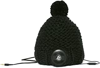 "Earebel Powered by AKG ERH020101 手工制条纹""黑面""帽子耳机ERH020101 M"