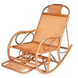 Dfghbn Chaises À Bascule Rotin Rocking Chair Nordic Balcon Loisirs Loisirs Loisirs Loisirs Facile Face Easy Chaise…