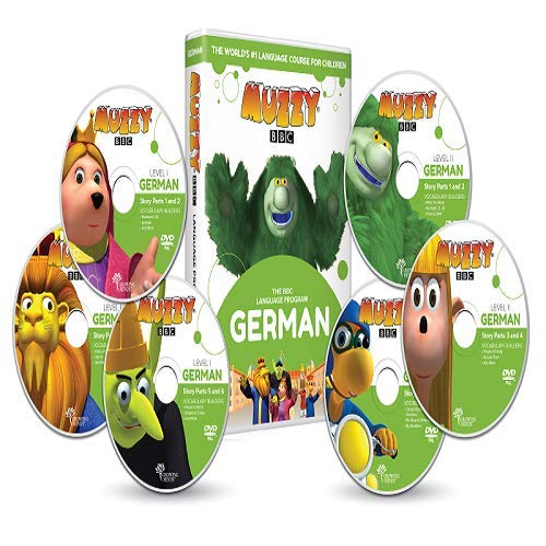 Deutsch für Kinder Muzzy BBC 6 DVDs und Online-Kurse - Spiele und Videos - BBC-Sprachkurse