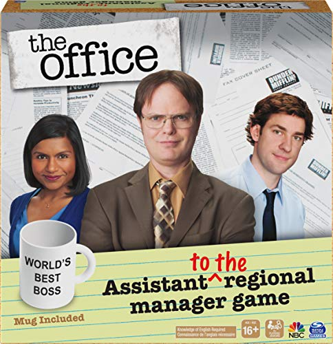 Assistant to The Regional Manager Party Game