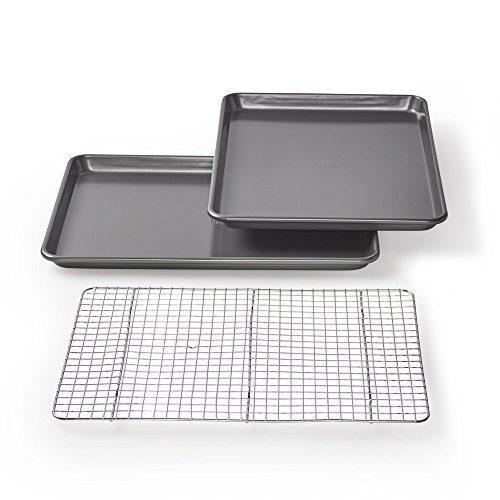 Chicago Metallic Professional Non-Stick Cookie/Jelly-Roll Pan Set