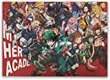 Rompecabezas Puzzles My Hero Academia 500 Piece Large Jigsaw Puzzle for Adults and Teens - 15 X 20.5 Inch (38 X 52 cm)