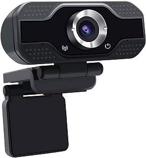 SHUHAN Webcam Web Camera HD 1080P Webcam Built-in Microphone Smart Web Camera USB Streaming Beauty Live Camera for Compute...