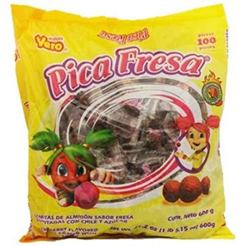 Vero Pica Fresca Strawberry Chili Gummies - 100ct