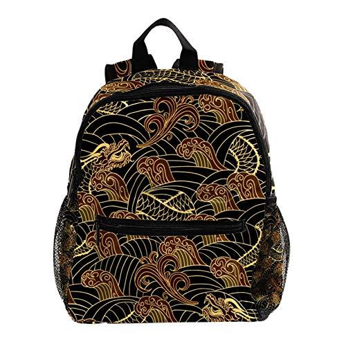 Cooler Rucksack für Kinder, stabile Schultaschen für Jungen und Mädchen, niedliche Waschbären