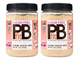 PBfit Sugar-Free Peanut Butter Powder, 13 Ounce (Pack of 2)