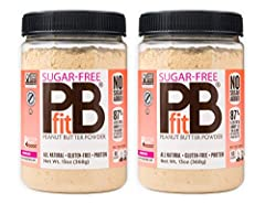 SAME GREAT TASTE: Introducing PBfit that is sugar-free! Now, you can get the great benefits of PBfit with no added sugar! We use a naturally sweet monk fruit blend to give PBfit Sugar-Free a similar flavor to PBfit Original. SIMPLE INGREDIENTS: PBfit...