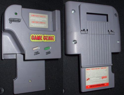 Game Genie (Cheatmodul) für Game Boy