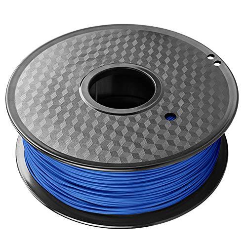 Filamento de impresión 3D de 1 kg, filamento PETG de 1,75 mm, una variedad de opciones de color, para impresora 3D-Azul