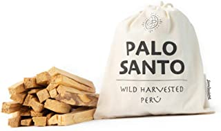 Luna Sundara Palo Santo Smudging Sticks from Peru Sustainably Harvested Quality Hand Picked - 100 Grams (Approximately 13-18 Sticks)