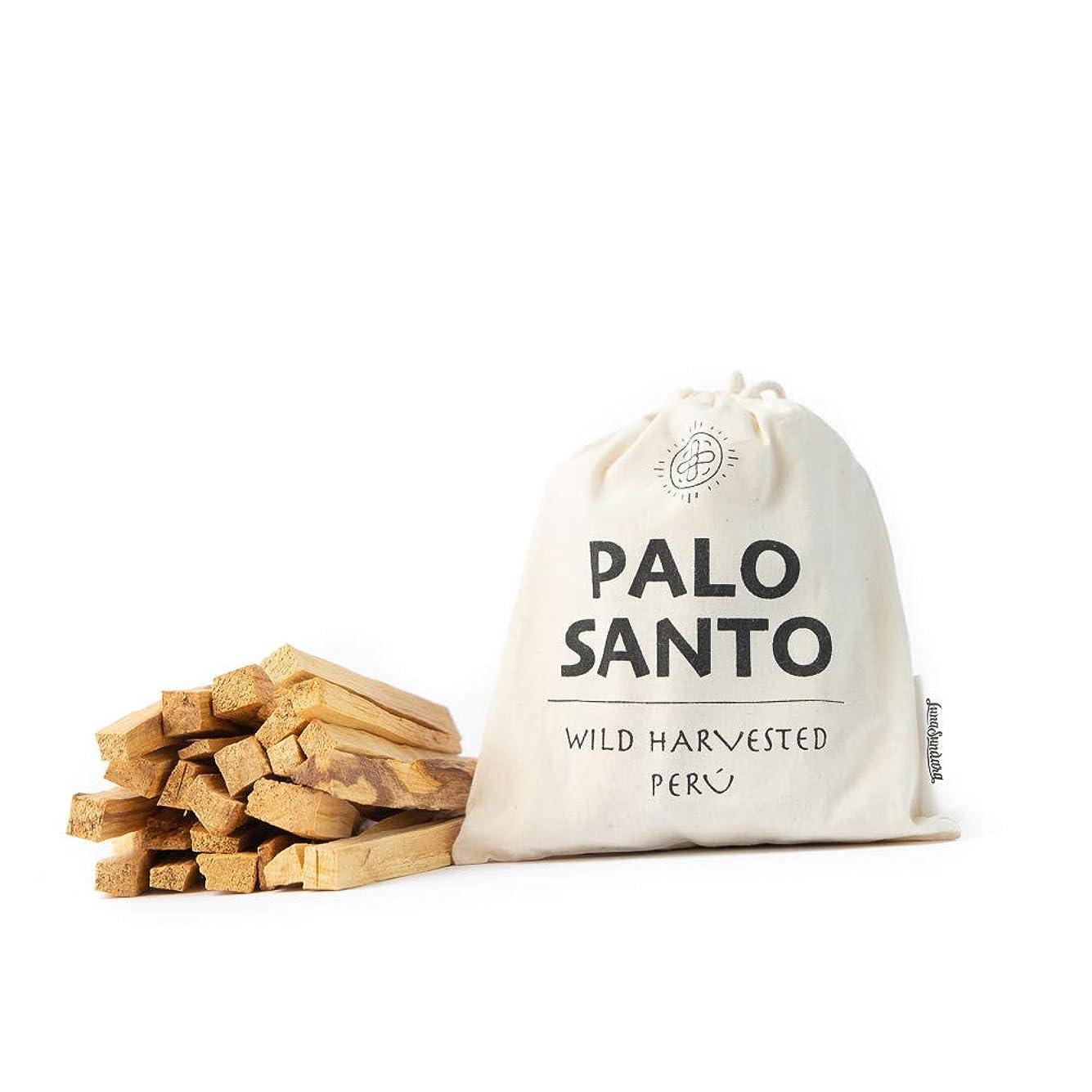 大モデレータ織るLuna Sundara Palo Santo Smudging Sticks Peru Sustainably Harvested Quality Hand Picked - 100グラム(約18-25スティック)