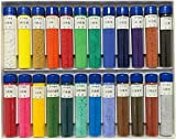 吉祥 日本画用絵具 水干絵具瓶入 24色セット