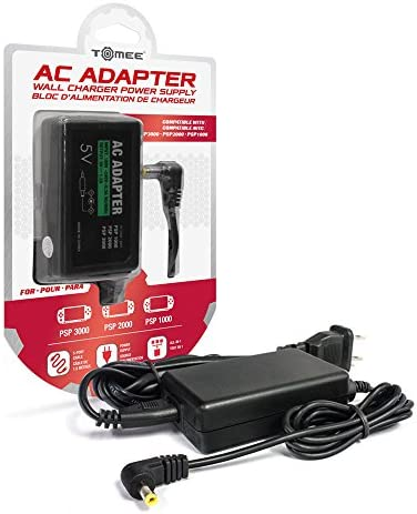 Tomee AC Adapter for PSP 3000 2000 and 1000 Models product image