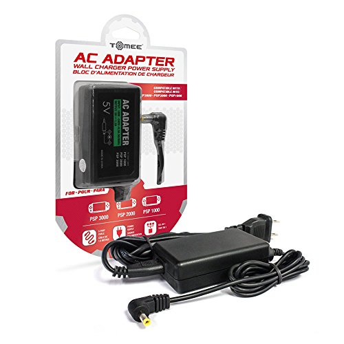 Tomee AC Adapter for PSP (3000, 2000, and 1000 Models)