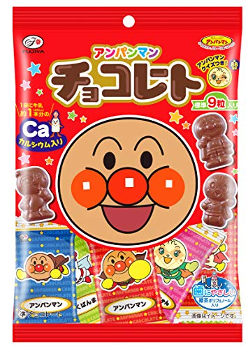 不二家 アンパンマンチョコレート(小袋) 34g ×10袋