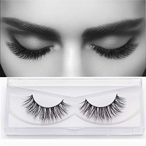Cils de Vison Maquillage Dramatique Aspect Naturel pour Le Maquillage Cils Extension à la Main 3D Faux Cils de Mode (1 Paires)