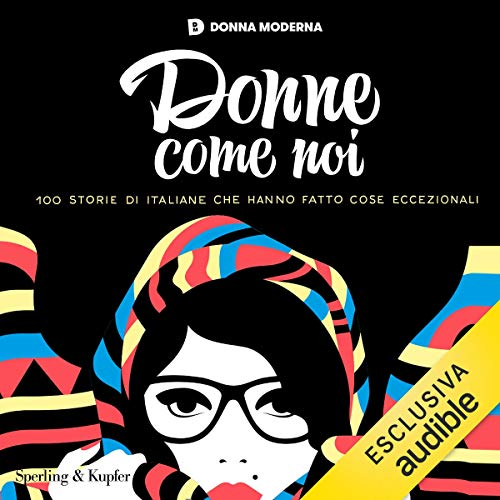 Donne come noi audiobook cover art