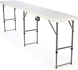 Displays2go Adjustable-Height Folding Tables (FOLDT104)