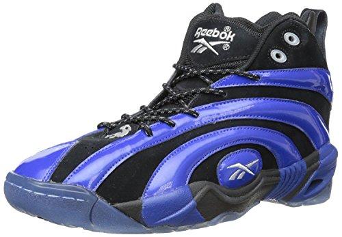 Reebok Shaqnosis OG Herren Schwarz Basketball Schuhe Größe Neu EU 43